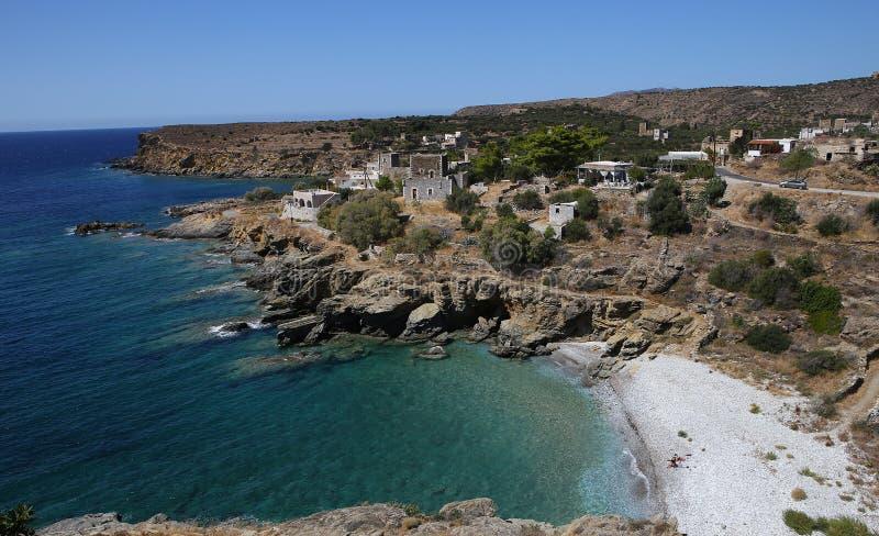 Coastline near Limeni village, Peloponnese, Greece. Coastline near Limeni village, in magne peninsula, Peloponnese, Greece stock images