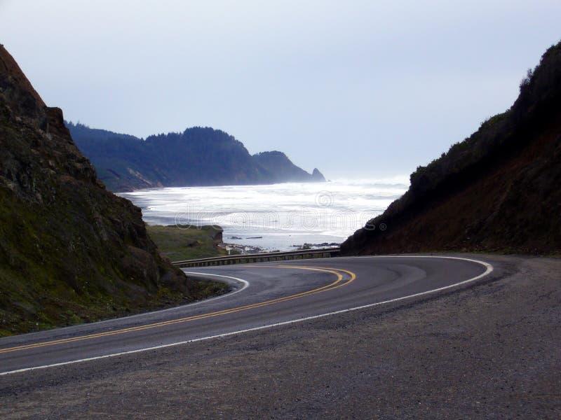 Coastline pacífico fotos de stock