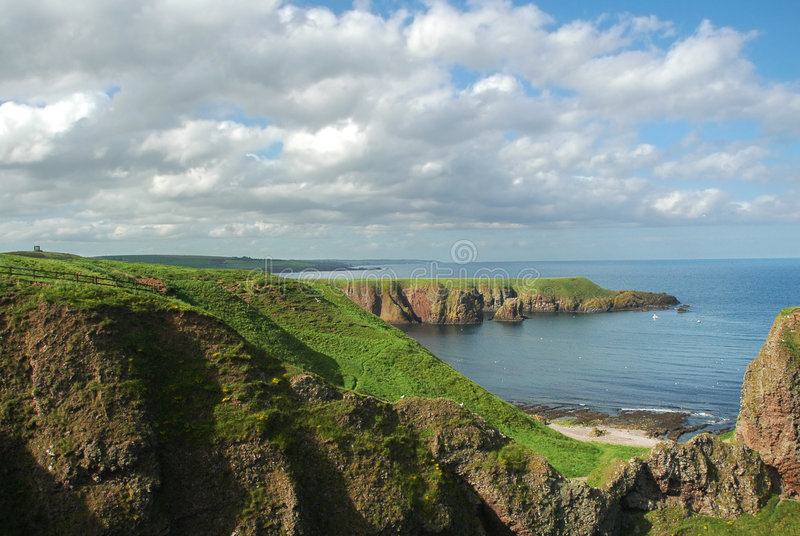 Download Coastline Of Scotland During B Stock Photo - Image: 2161902
