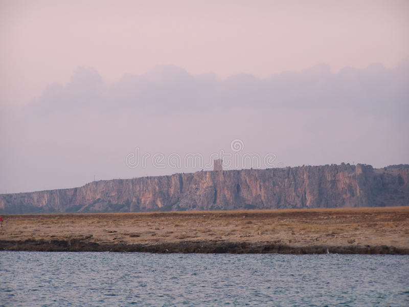 Download Coastline with watchtower stock photo. Image of ancient - 12332834