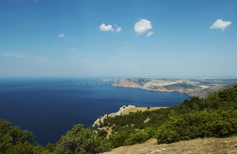 Coastliness krajobrazy obraz royalty free