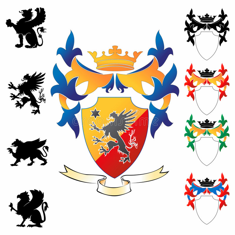 Coat of Arms 03 vector illustration