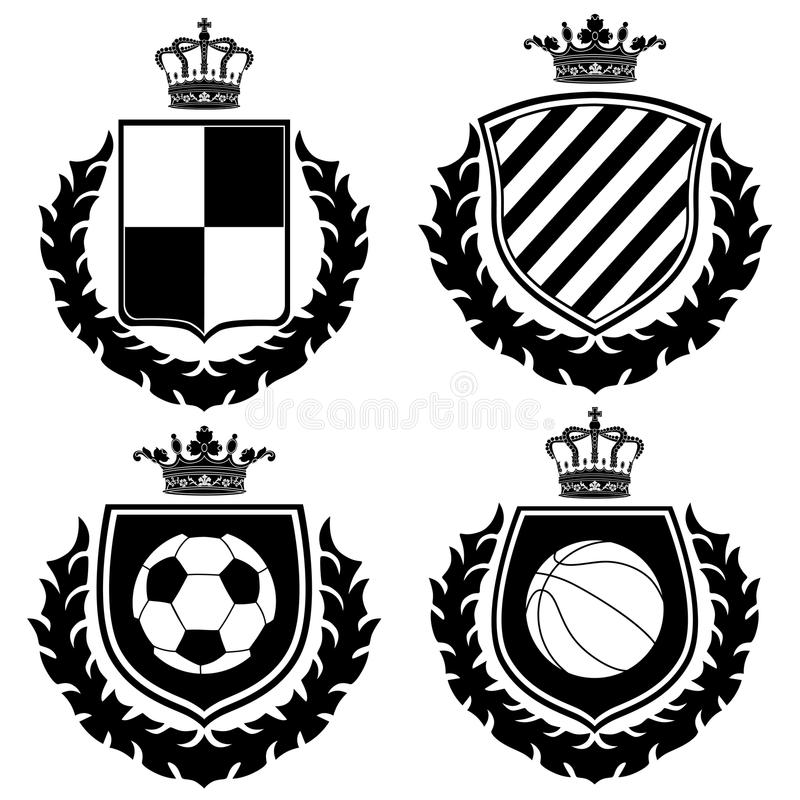 Download Coat of arms. stock vector. Illustration of coat, soccer - 11168691