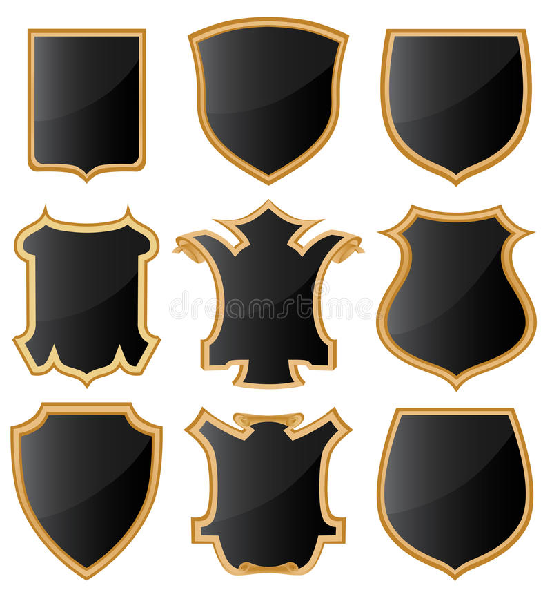 Download Coat of arms stock vector. Illustration of knight, ancient - 13063785