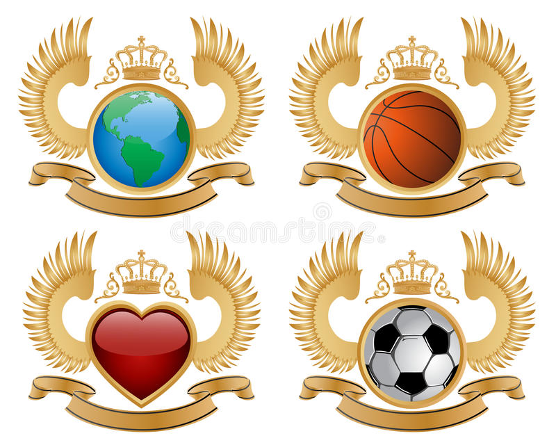 Download Coat of arms stock image. Image of icon, peace, emblem - 13248539