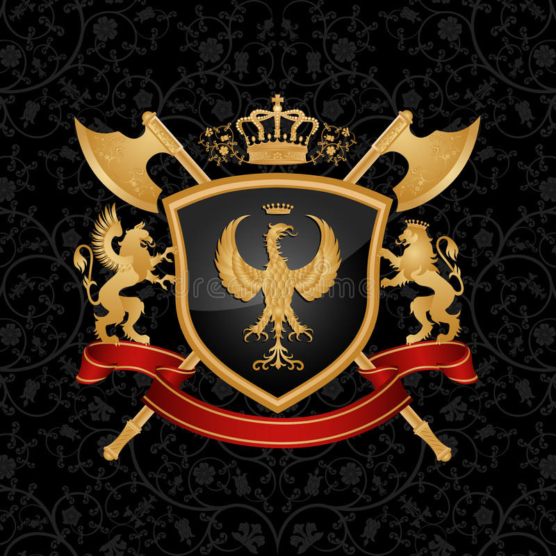 Download Coat of arms stock vector. Illustration of background - 14778099