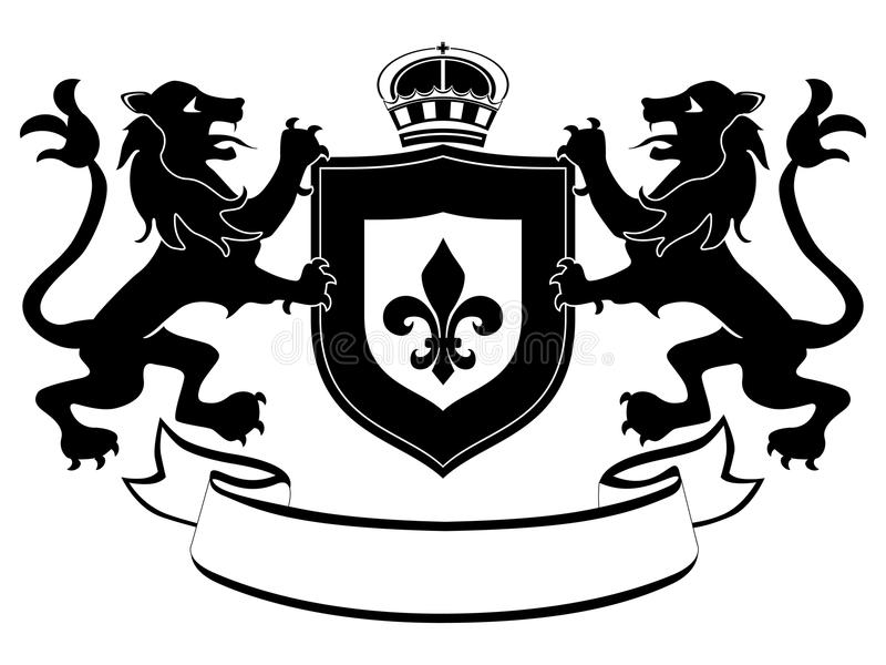 Download Coat of arms stock vector. Illustration of illustration - 17531885