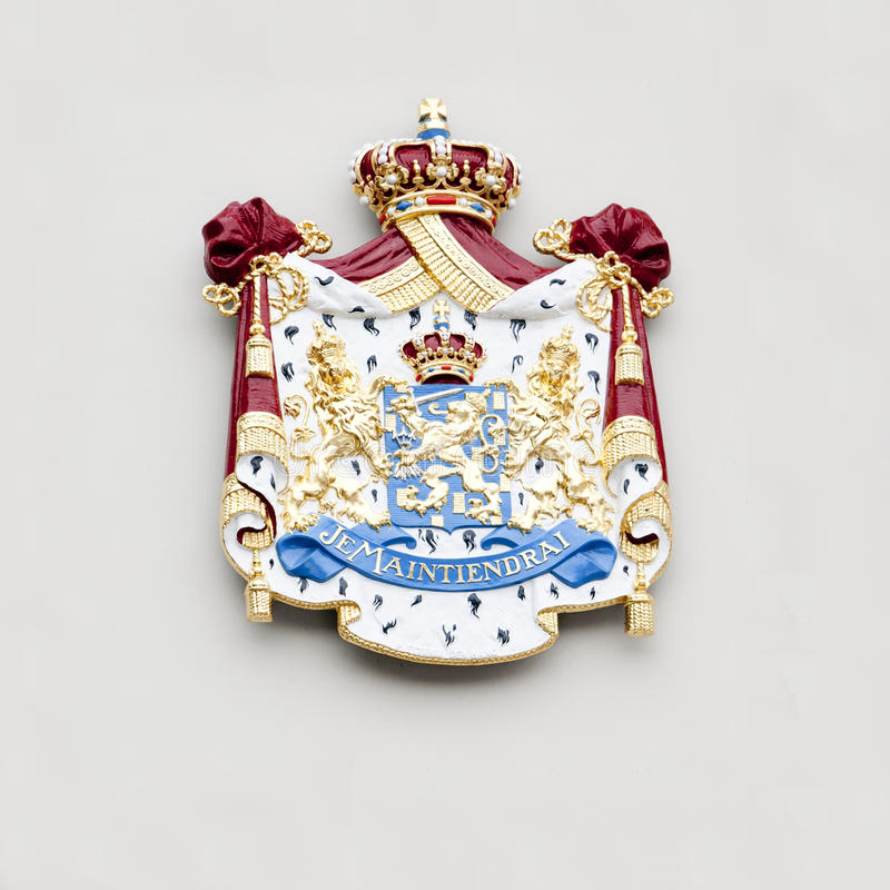 Download Coat of arms stock image. Image of arms, lion, blazon - 20349585