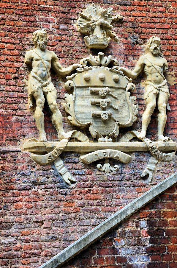 Download Coat of arms stock photo. Image of tower, london, wall - 25263576