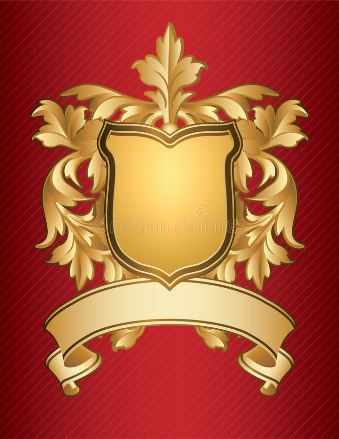 Coat of Arms. Vector illustration - Coat of Arms