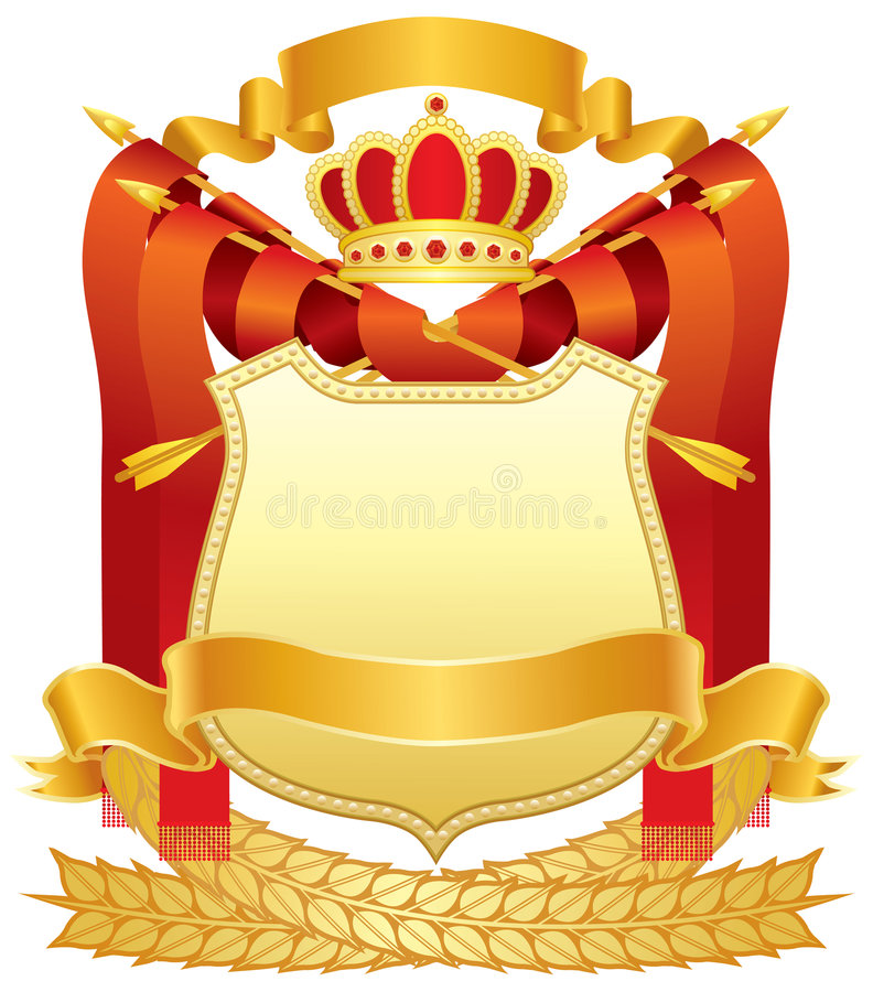 Download Coat of arms stock vector. Illustration of vector, arrow - 6184082
