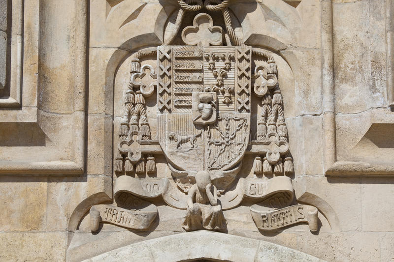 Download Coat Of Arms In The Cathedral Of Burgos Stock Images - Image: 23921924