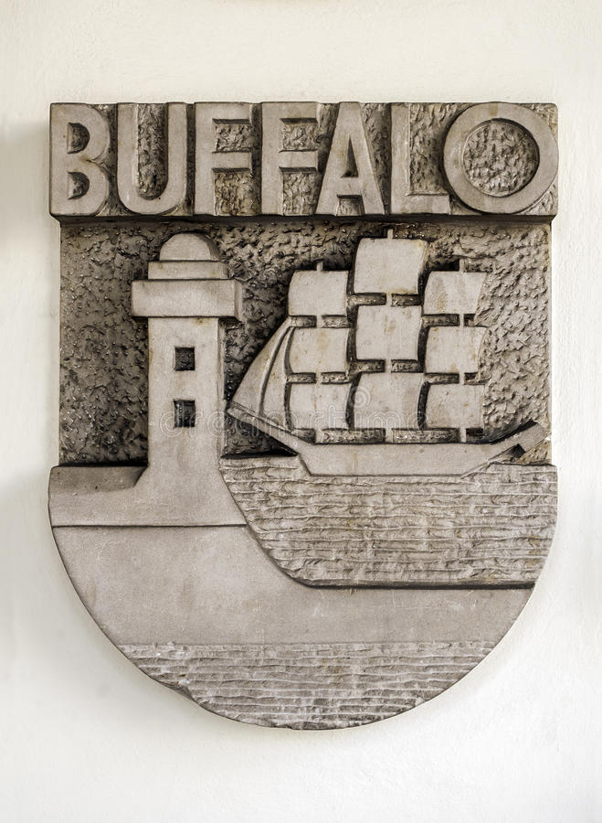 Download Coat of arms. stock photo. Image of ornament, buffalo - 30090528