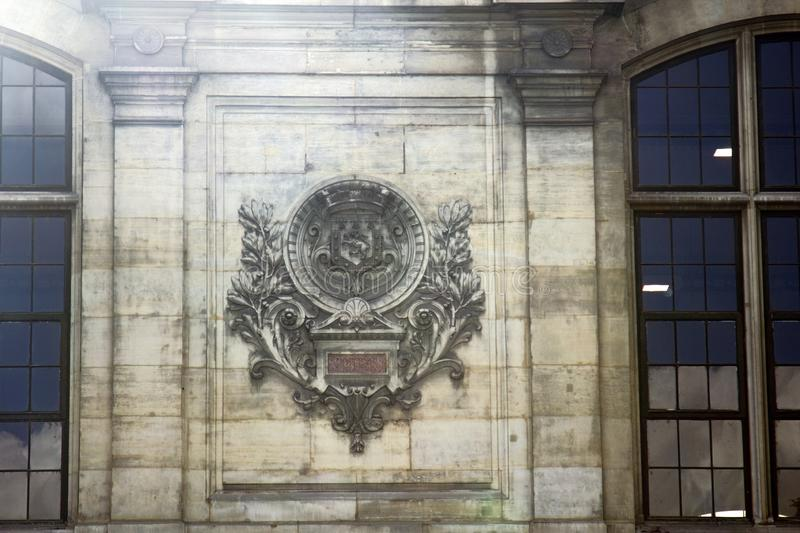 Coat of arms. France. Paris stock photography