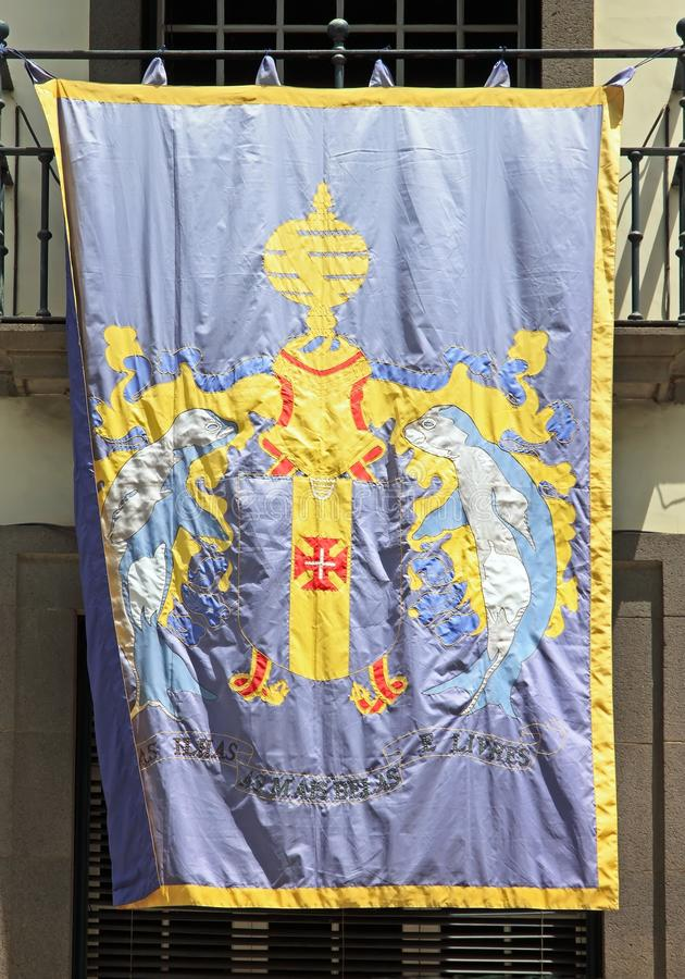 Coat Of Arms Of Madeira Royalty Free Stock Photos