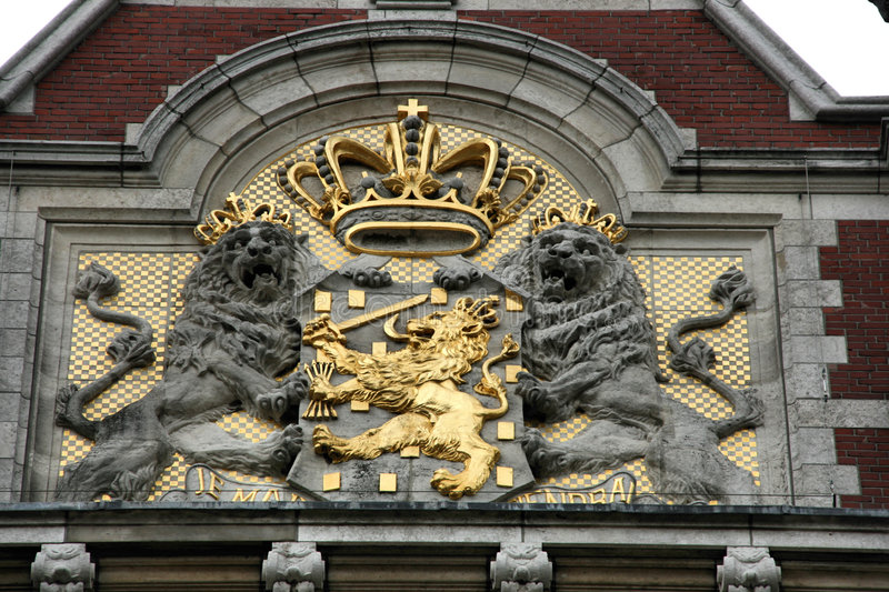 Download Coat of Arms - Netherlands stock photo. Image of crown - 6960678