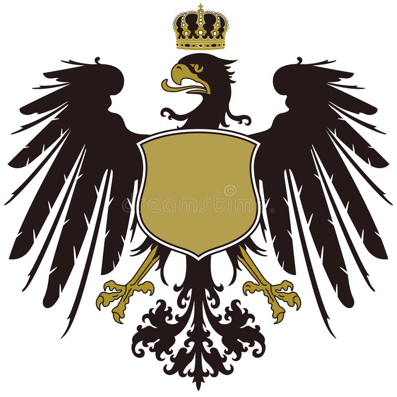Download Coat of arms of Prussia stock vector. Image of crown - 28644364
