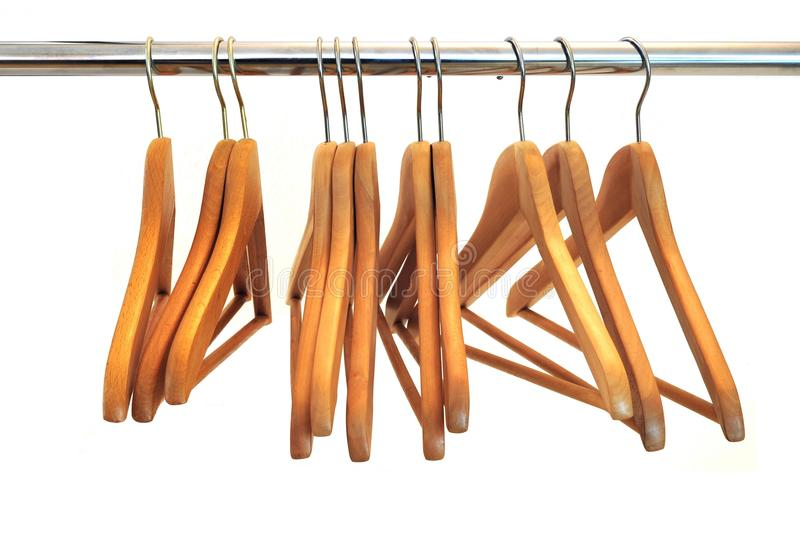 Download Coat Hanger stock image. Image of isolated, coat, clothe - 11968217