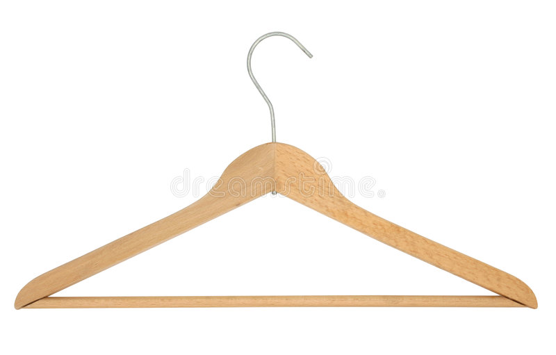 Coat Hanger royalty free stock photo