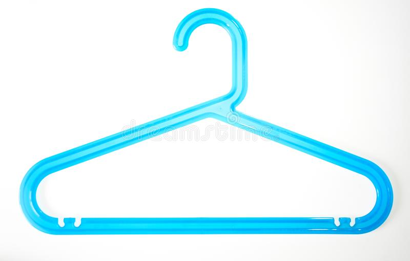Coat hanger isolated on white background royalty free stock images