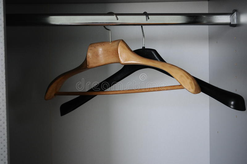Download Coat hangers stock image. Image of packing, emptiness - 10262829