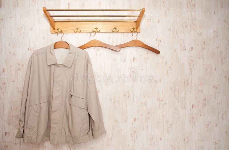 Coat rack stock image