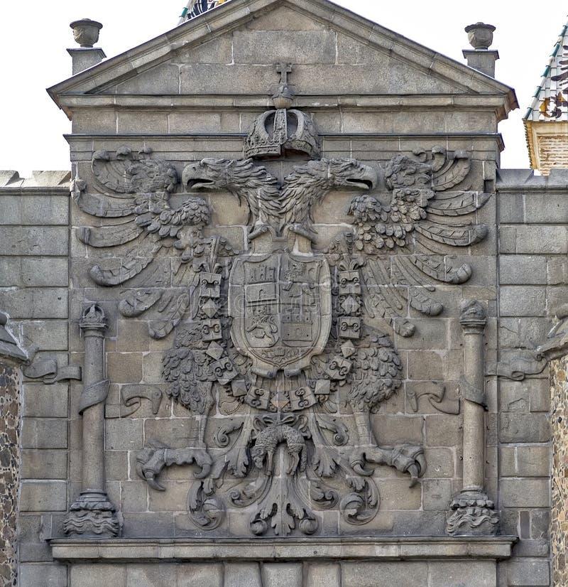 Download Coat of Toledo, Spain stock photo. Image of europe, building - 26808736