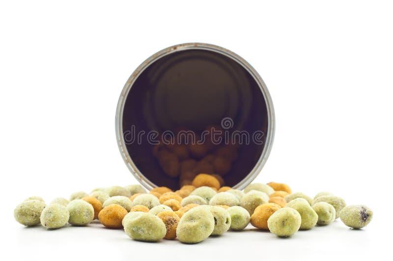 Coated peanut. royalty free stock image