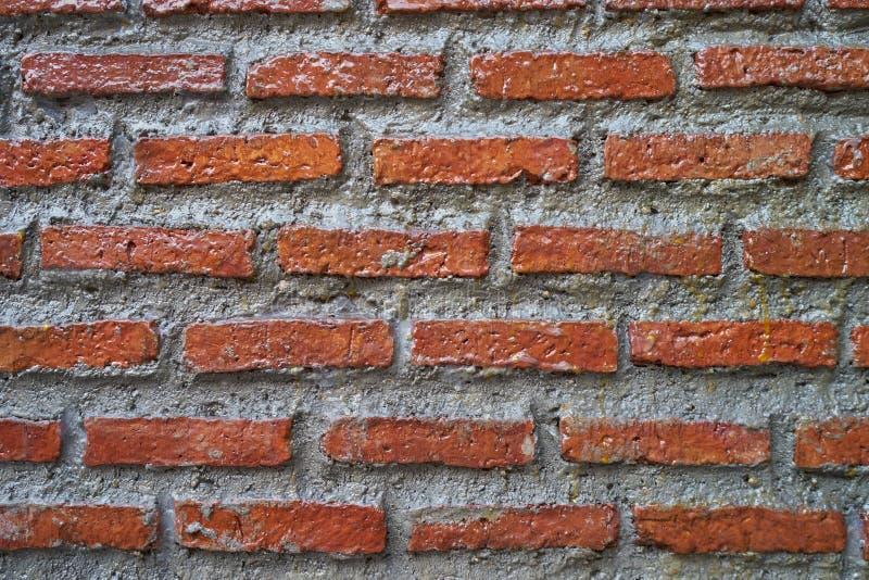 Coating brick wall stock image