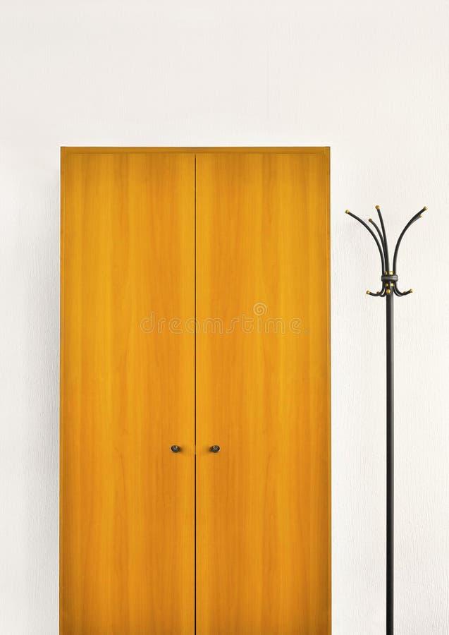coatroom стоковое изображение