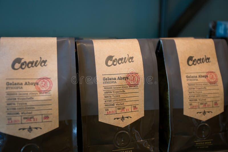 Coava Coffee Roasters Portland Oregon royalty free stock photos