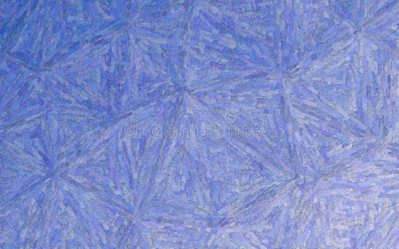 Cobalt blue Textured Impasto background illustration. royalty free illustration