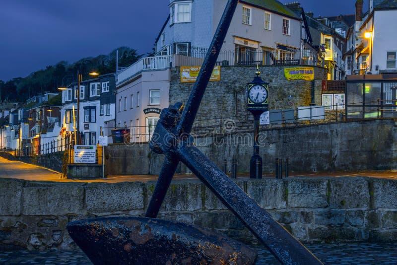 Cobb brama Lyme Regis zdjęcia stock