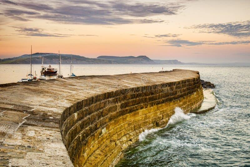 Cobben, Lyme Regis, Dorset arkivfoto