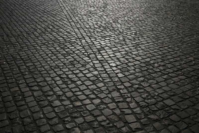 Cobble pavement background. Useful as a background stock photo