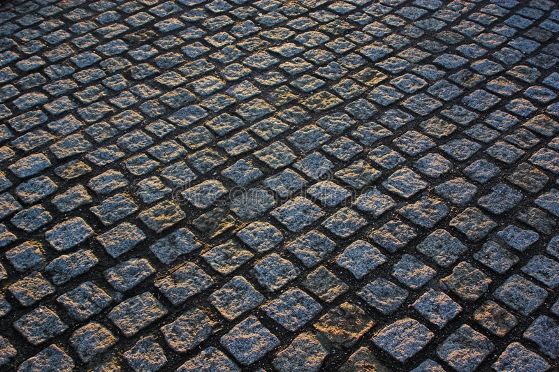 Download Cobble paving stock photo. Image of pavement, travel, rout - 469928
