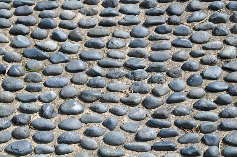 Cobble Stone Floor royalty free stock image