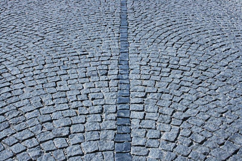 Cobble-stone street royalty free stock image