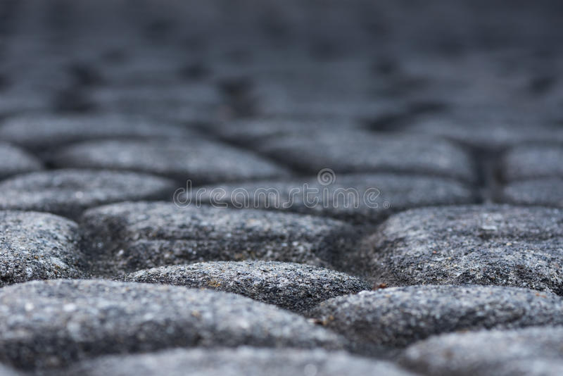 Cobble Stone Texture Low Angle stock photo