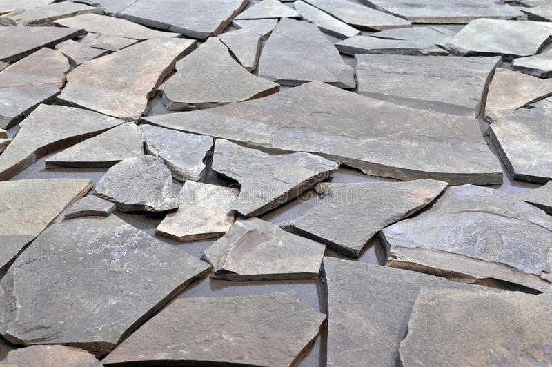 Cobbled pavement stock photo