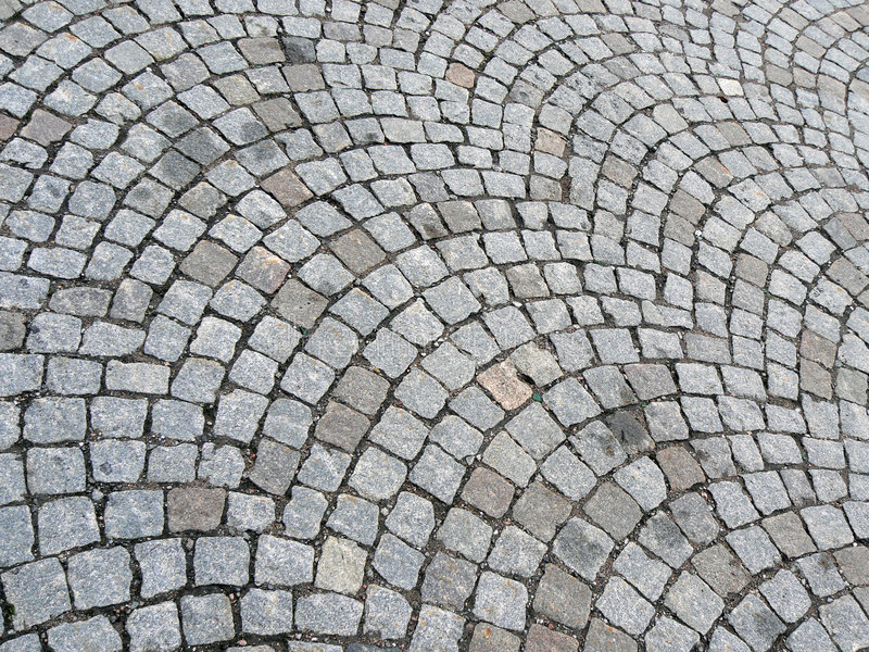 Download Cobbled road stock photo. Image of pebbles, lines, cobblestones - 1164538