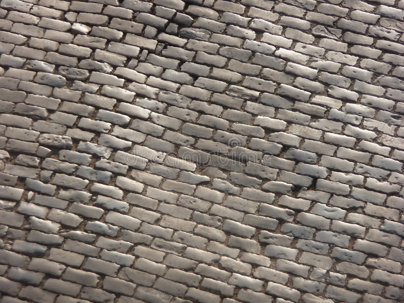 Download Cobbled Road Stock Photography - Image: 6573842
