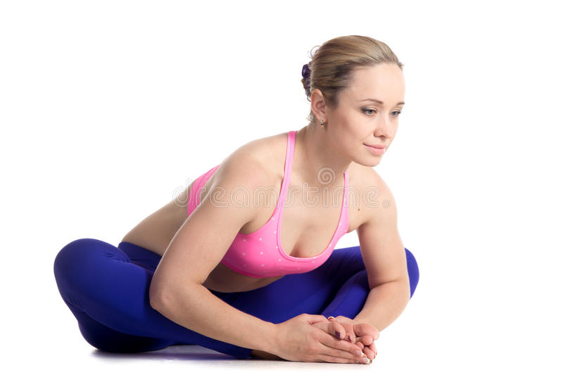 Download Cobbler Yoga Pose Stock Image Of Posture Butterfly