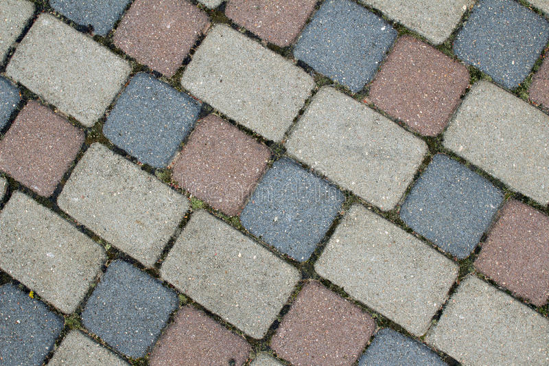 cobbles Каменная картина дороги стоковые фото