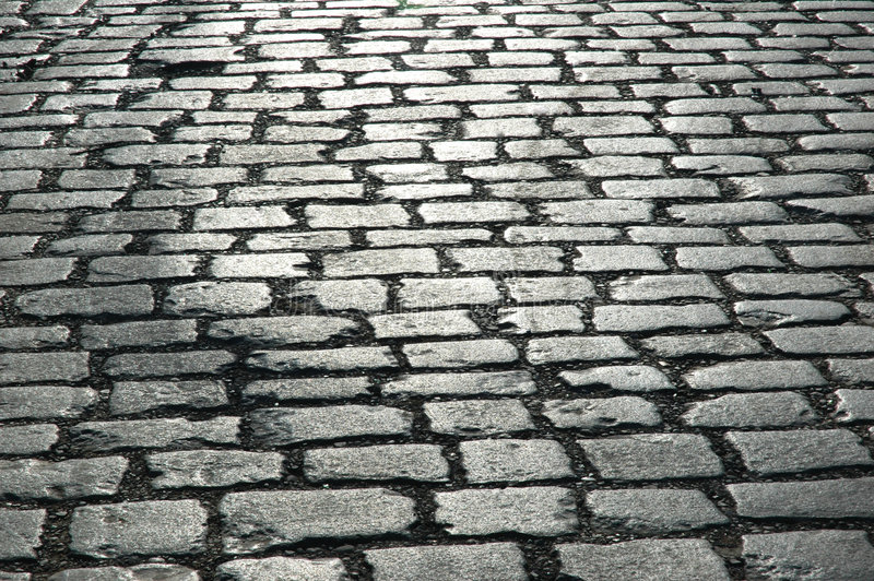 Download Cobbles on the street stock photo. Image of alley, backgrounds - 2739522
