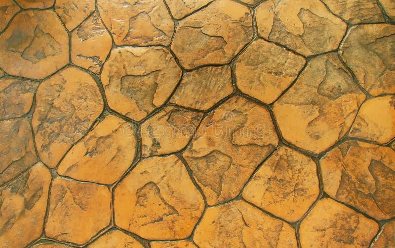 cobbles Teste padrão de pedra da estrada imagem de stock royalty free