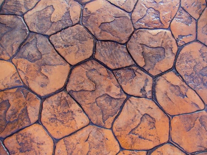 cobbles Teste padrão de pedra da estrada fotografia de stock royalty free