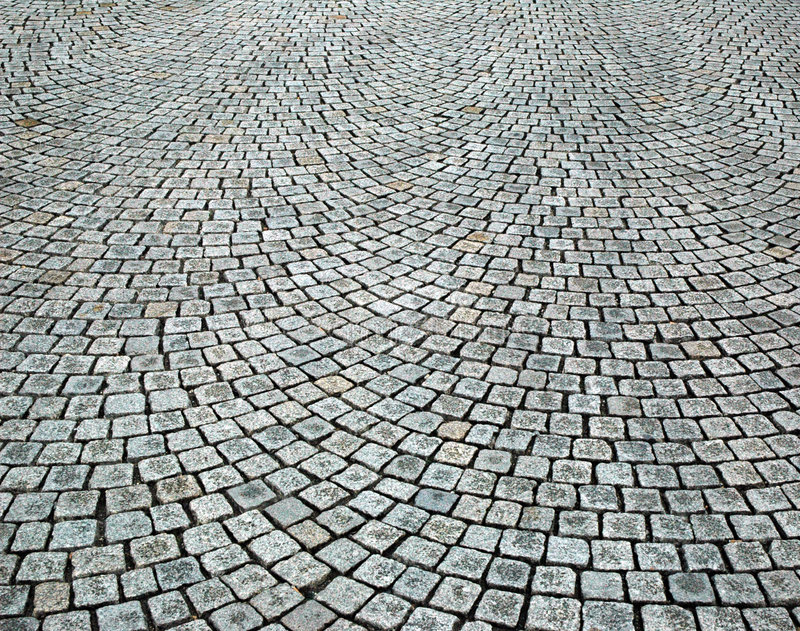 Download Cobblestone immagine stock. Immagine di piccolo, downtown - 3887687