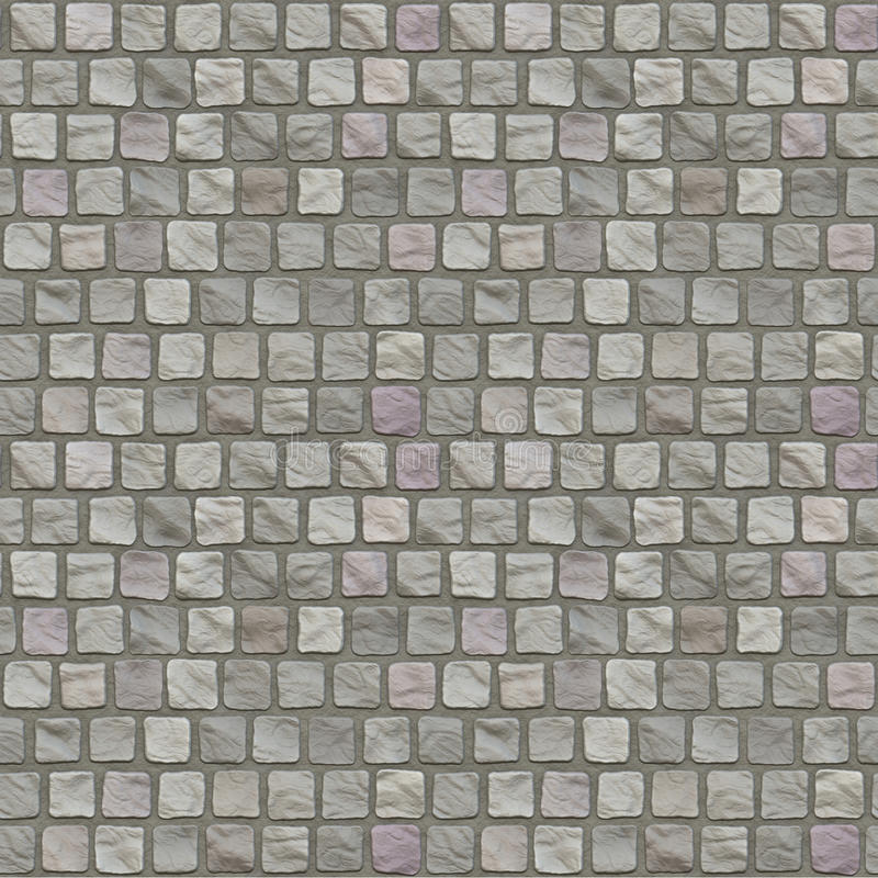 Cobblestone Floor Seamless Pattern stock photo