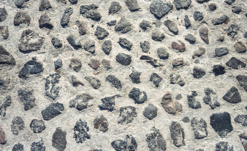 Cobblestone floor texture background royalty free stock images